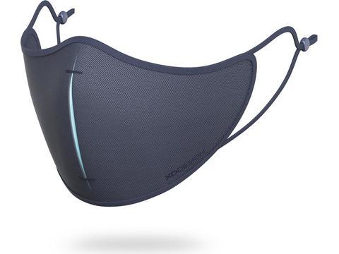 Wasbare mondmasker set - 95% filterefficiëntie - 5 herbruikbare filters - opbergzakje