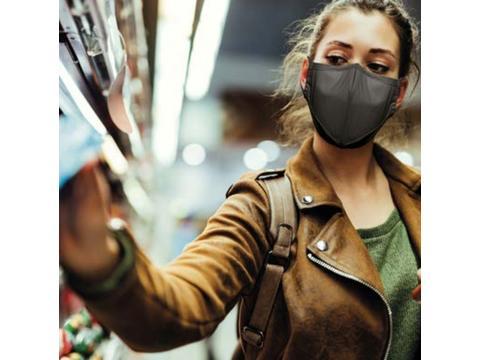 Wasbare N95 mondmaskers - 4 lagen (hoogste BFE filtering herbruikbare mondkapjes)