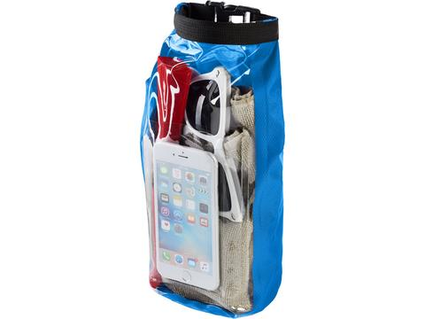 Tourist 2 L waterproof outdoor bag, phone pouch