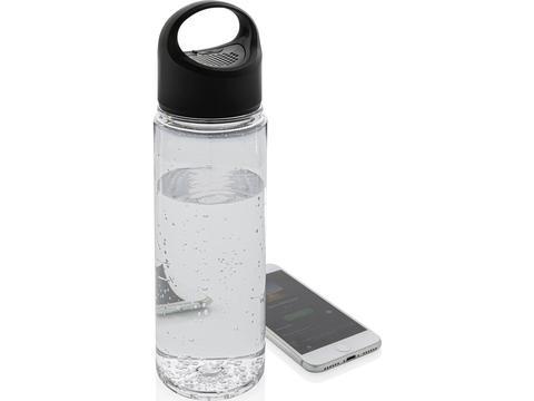 Bouteille d'eau avec haut parleur