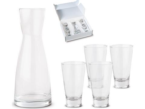 Carafe et 4 verres Aqua Plus 4