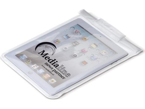 Water resistant pouch tablet