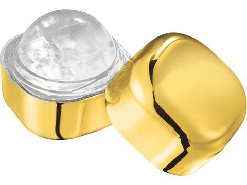 Cube de baume à lèvres métallique Rolli sans cire ni SPF