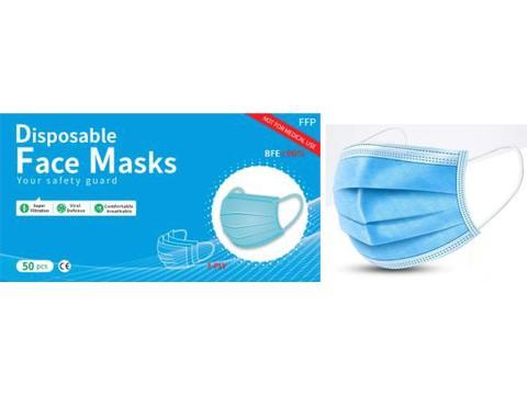 Wegwerp bescherming maskers