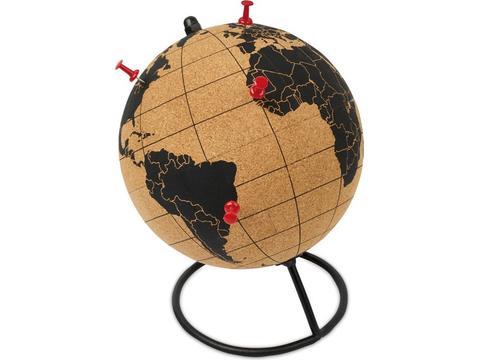 Globe in cork