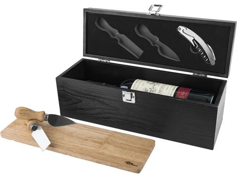 Mino wine box and cheese set