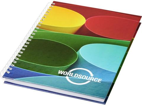 Wire-o A4 notitieboek met harde cover