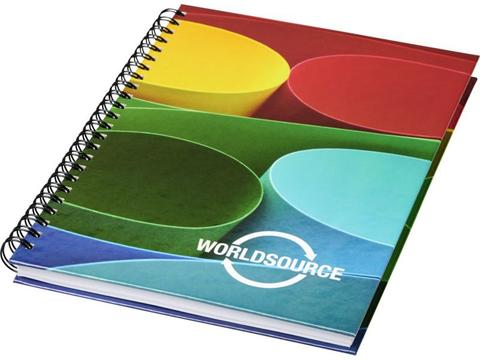 Wire-o A5 notebook hard cover