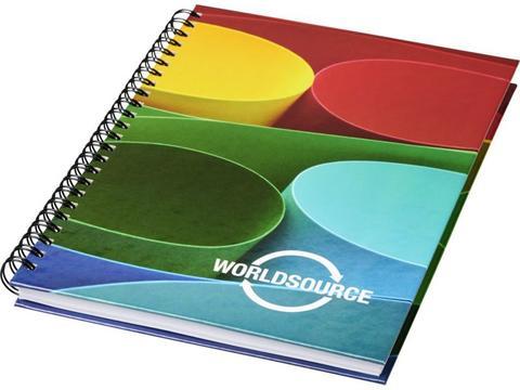 Wire-o A6 notitieboek met harde cover