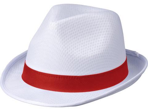 Chapeau Trilby - Blanc