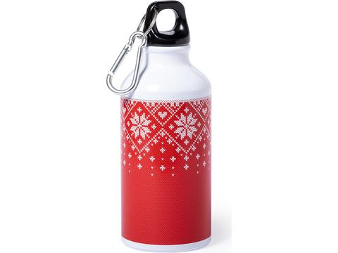 Xmas design drinkfles - 400 ml