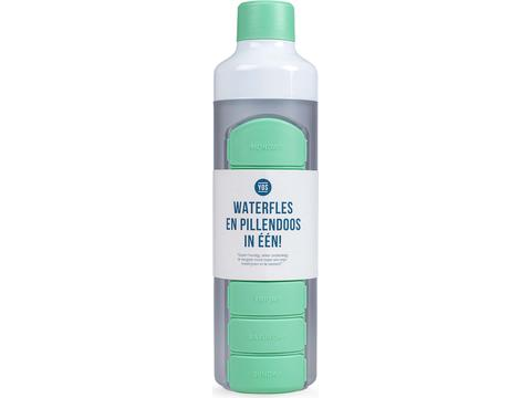 YOS Bottle - waterfles én pillendoos in 1
