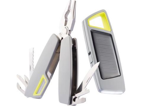 Set torche solaire et outil multifonctions Tovo