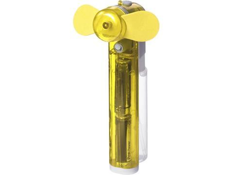 Zakventilator met watercontainer