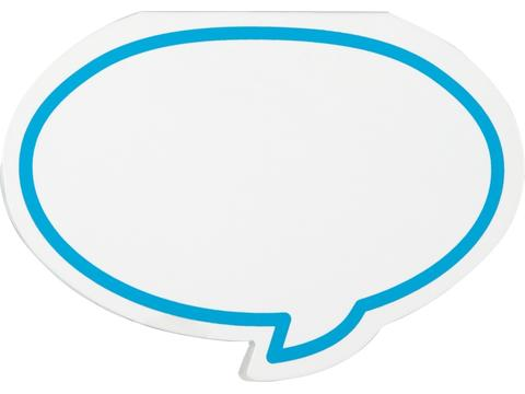 "Adhesive notes ""speech balloon"""