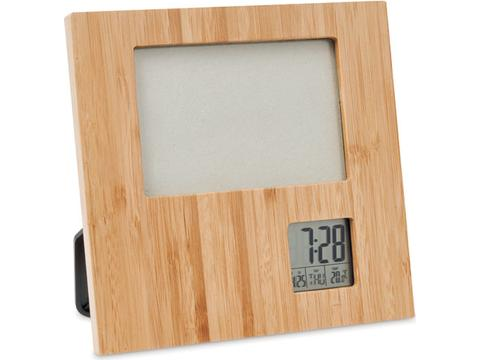 Zenframe Photo frame with weather station