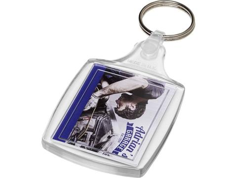 Porte-clefs Zia classique avec attache plastique