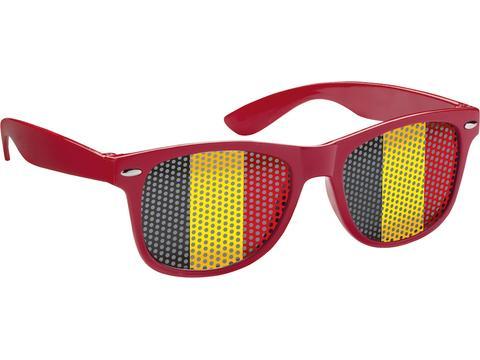 Zonnebril met speciaal gekleurde glazen