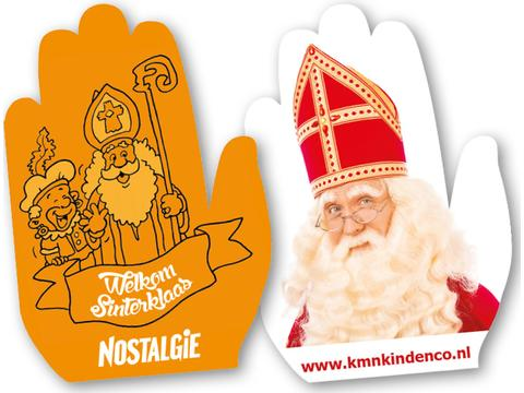 Wave hands for Sinterklaas