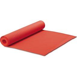 Fitness yoga mat met draagtas