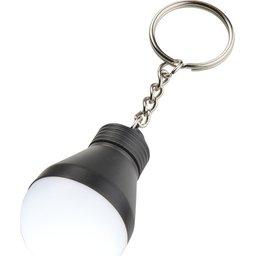 Sleutelhanger lampje in vorm van gloeilamp