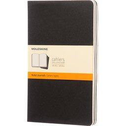 Cahier dagboek Large gelinieerd - set van 3 stuks