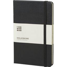 Classic Large hard cover notitieboek met ruitjes papier