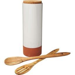 Jamie Oliver Terracotta pastahouder met lepels