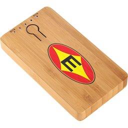 12367600 bamboe powerbank met logo