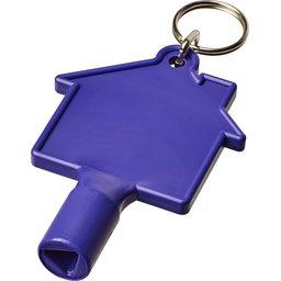 Meterbox & radiator sleutel met sleutelhanger