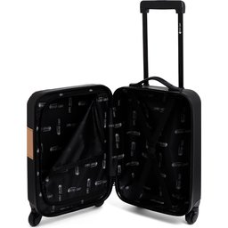"""28123_5 Cabin Size """"Simply Green"""" Trolley RPET Black"""
