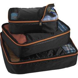 3 delige kofferorganizer