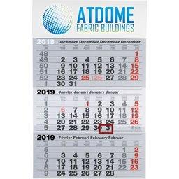 3-maandkalender bedrukken