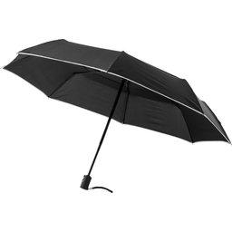 3 sectie windproof paraplu