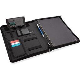 5W rPET A4 portfolio met draadloze oplader Air map