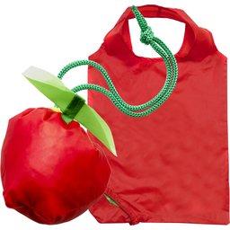 Opvouwbaar tasje met fruitpouch