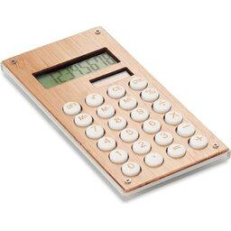 8-cijferige rekenmachine bamboe