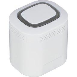 Kleine klankrijke bluetooth luidspreker met achtergrond verlichting