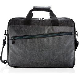 900D laptop tas PVC vrij -voorzijde