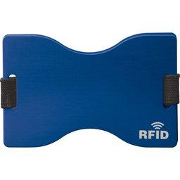 91191 RFID kaarthouder blauw