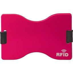 91191 RFID kaarthouder magenta