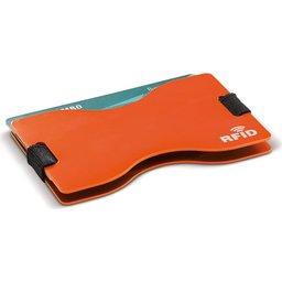 91191 RFID kaarthouder oranje 2