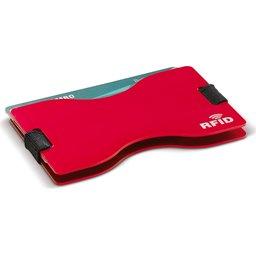91191 RFID kaarthouder rood 2