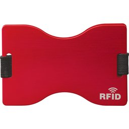 91191 RFID kaarthouder rood
