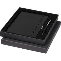 A5 notitieboek en pennengeschenkset