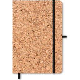 A5 notitieboek met kurk cover