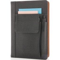 A5 notitieboekje met vakje voor telefoon bedrukken