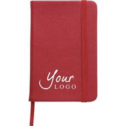 A6 notitieboekje met elastiek sluiting bedrukken