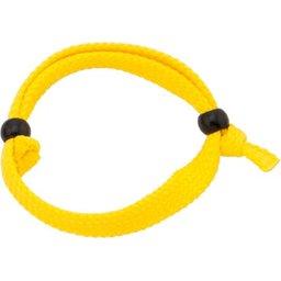 Aanpasbare polsbandjes geel