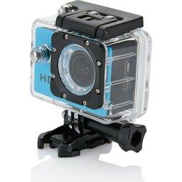 Action camera blauw